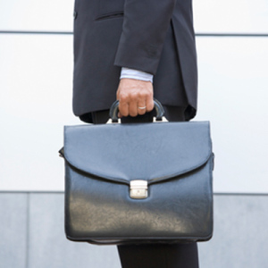 Business Man with a Briefcase